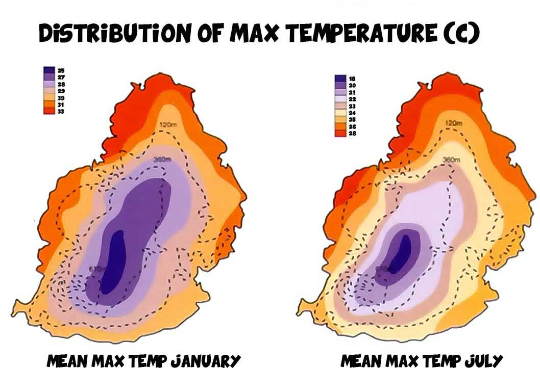 Mauritius-temperature-distribution-maximum