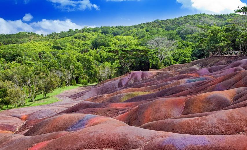 Chamarel Park - The Seven Coloured Earth