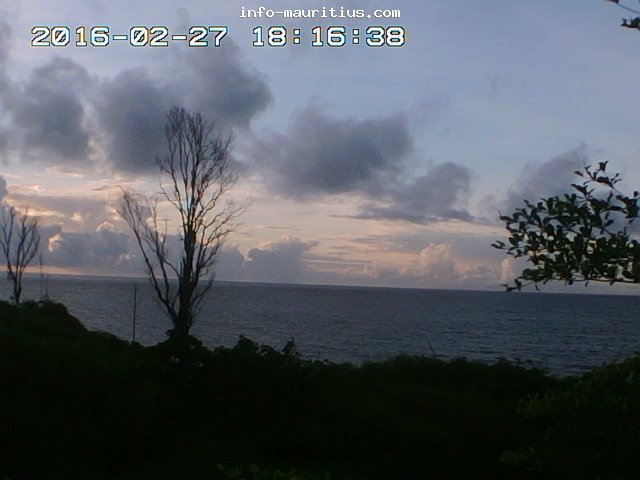 Flic en Flac webcam - Flic en Flac Resort webcam, Mascarene Islands, Mauritius
