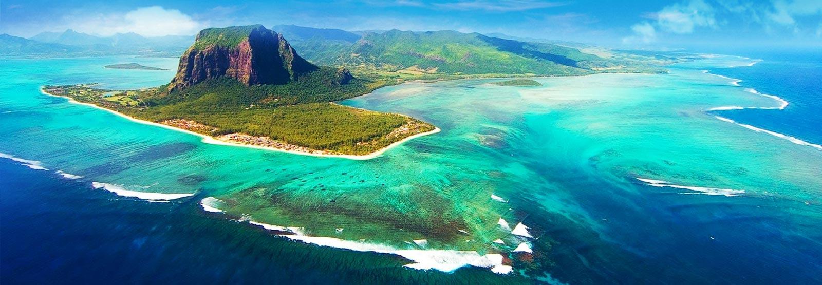 Mauritius Undersea Waterfall
